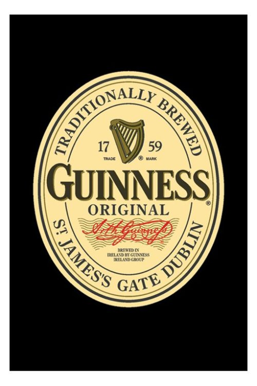 guinness_label-poster
