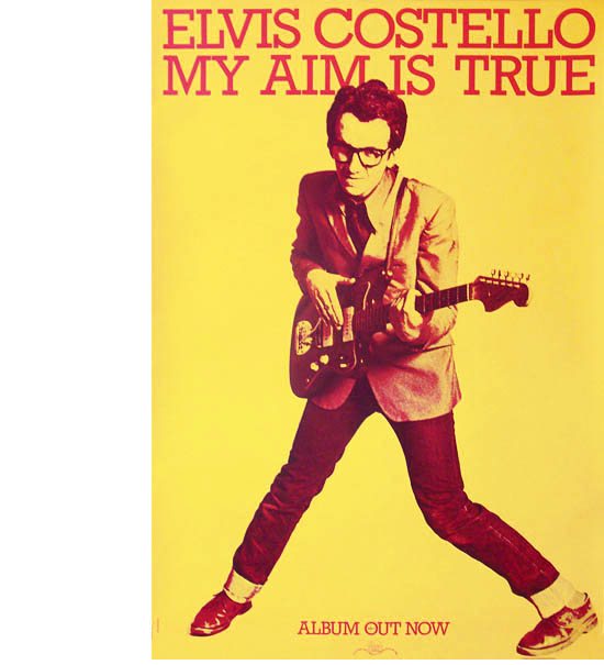 my aim is true Within a few weeks of the uk release of elvis costello's 1977 debut lp, my aim is true, elvis presley was dead the 22-year-old london-born singer-songwriter, known to family and friends as declan patrick macmanus, had co-opted the king's first name only a few months before it was a piece of.